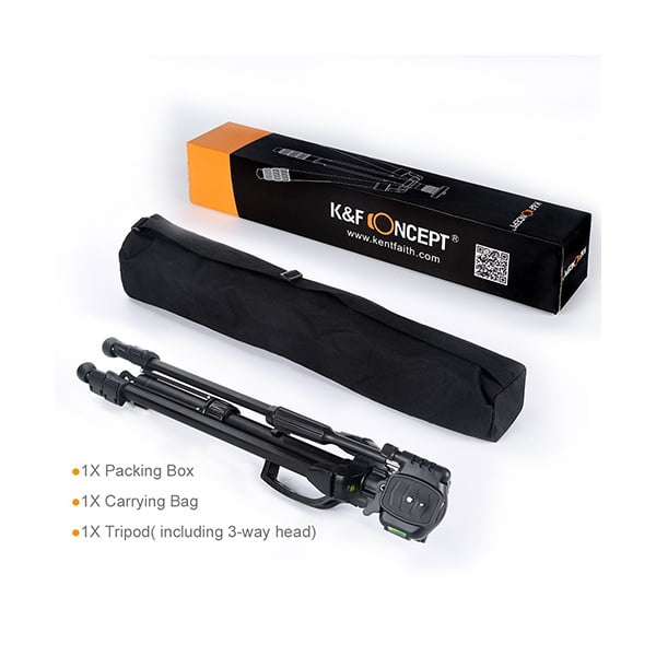 K&F Concept Treppiede Reflex KF09.012 Box