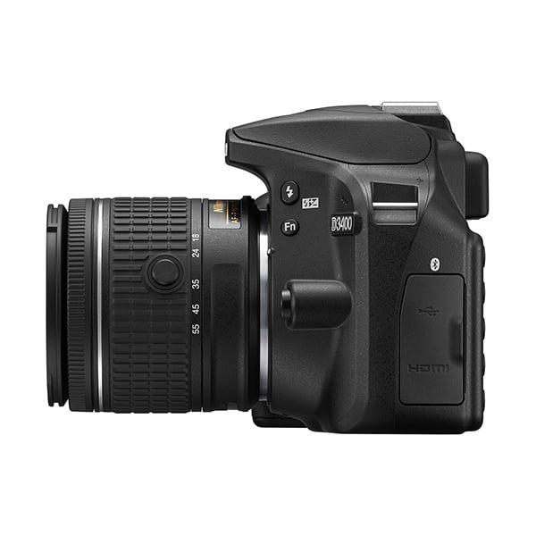Nikon D3400 Lato