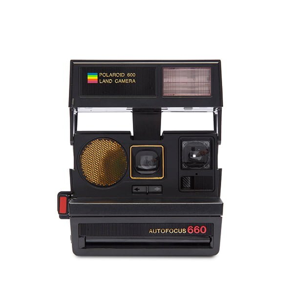 Polaroid 600 Land Camera - Sun 660 Autofocus Front