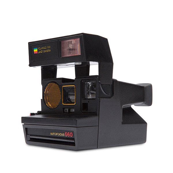 Polaroid 600 Land Camera - Sun 660 Autofocus Lato